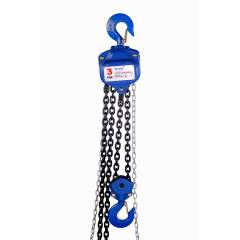 Orpek 1 Ton 3m Lift Chain Pulley Block, KE010103