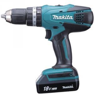 Makita 13mm Cordless Hammer Driver Drill, HP457DWE