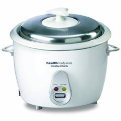 Morphy Richards Health 1.8 Litre White Electric Cooker, 690000
