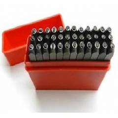 Universal Tools Letter Marking Punch Set, Size: 1/4 inch