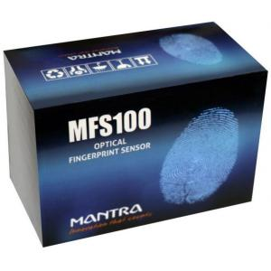 Mantra MFS 100 Optical Biometric Fingerprint Scanner with OTG Cable
