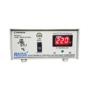 Rahul 5515a Digital 415VA 140-280V LCD/LED TV +DVD/DTH/Music System Automatic Voltage Stabilizer