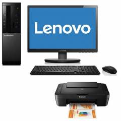 Lenovo 510S Pentium G4440/4GB/1TB All-in-One Desktop with Canon Pixma Printer