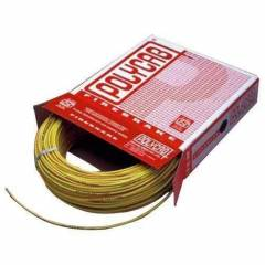 Polycab 1sqmm Single Core 90m PVC Insulated FRLF Unsheathed Yellow Industrial Cable