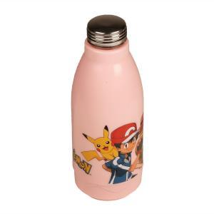 Jaypee Me cool 600ml Pink Pokemon Water Bottle