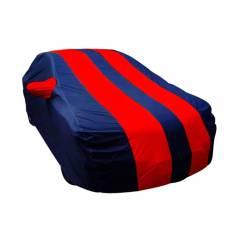 Autolane Matty Fabric Red & Blue Car Body Cover For Chevrolet Sail U-VA