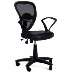Advanto Medium Back Mesh-Back Workstation Chair, AVPN 027