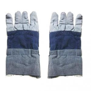 Kasa Life Denim Safety Hand Gloves without Inner Blanket (Pack of 120)
