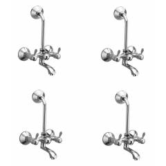 """Oleanna Magic Telephonic with """"L"""" Bend Wall Mixer, M-09 (Pack of 4)"""