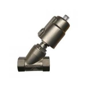 Techno Y TYPE ANGLE VALVE SS304-Single Acting_Y25