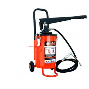 Weal Care 5 Kg Hand Operated Grease Pump Bucket with Wheel, BGPT-104