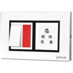 B-Five Royal 18 Module Cover Plate, B-069R (Pack of 10)