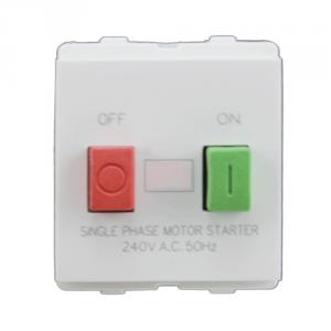 Polycab Selene 25A 1P N Motor Starter Switch, SSE0800085 (Pack of 10)