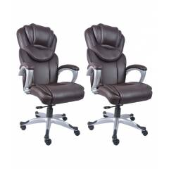 Divano Modular 007 High Back Executive Office Chair (Pack of 2)