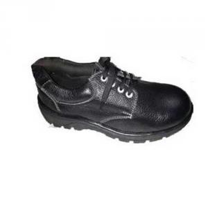 Avon GKS02 Black Steel Toe Safety Shoes, Size: 8