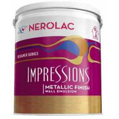 Nerolac Impressions Metallic Paint, Glitter Red-200ml