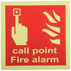 Mediateckboards FACP-004 Fire Alarm Call Point, Size: 4x4 in