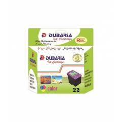 Dubaria 22 Tricolor Ink Cartridge For HP Printers