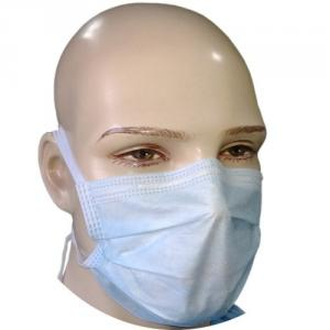 Ariette Tiemask100P 3 Ply Surgical Face Mask with Tie (Pack of 100)