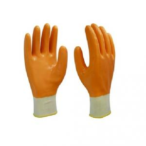 Gripwell Grey Nylon Shell & Black Crinckle Latex Three Fourth Coated Gloves (Pack of 20)
