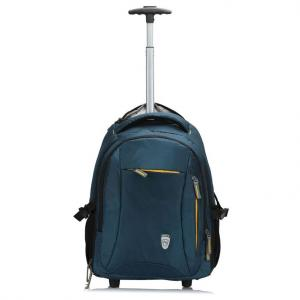 Novex Pacific Polyester Green Backpack