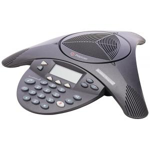 Polycom Non Expandable Sound Station 2 Analog Conference Phone