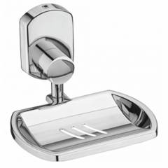 Jovial 203 Curio Stainless Steel Glossy Finish Soap Dish Holder