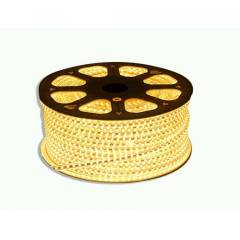 EGK 20m Yellow 3014 SMD LED Rope Light with Adapter