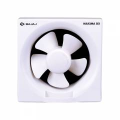 Bajaj Fresh Air Maxima DXI Exhaust Fan, Sweep: 250 mm, Colour: White