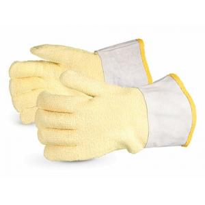 Ufo 315g Palm Kevlar Heat Resistant Yellow Safety Gloves, Size: XL