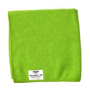 Unger Micro Wipe 200, Micro Fiber Cloths, Green, Item Code: ME400