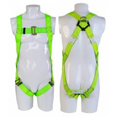 Heapro 1.8m Safety Harness with Scaffolding Hook & Energy Absorber, (HI-32)PA-D(HI-262)C