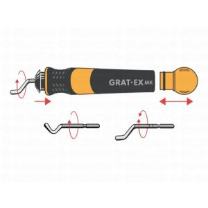 CP GRAT-EX DT-MK Comfort Grip 2 Deburring Tools, 38334 (Pack of 2)