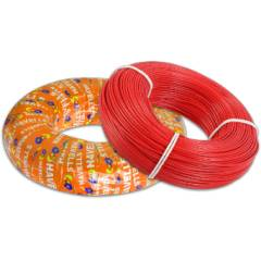 Havells 1.5 Sq mm PVC Red Life Guard Flexible Cable, WHFFFNRL11X5, Length: 180 m