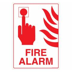 Safety Sign Store Fire Alarm Sign Board, PS104-A3PC-01