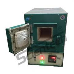Scientech 950 deg C Rectangular Muffle Furnace, 125x125x250 mm, SE-130