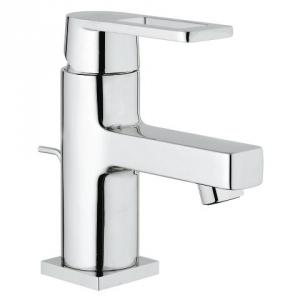 Grohe 1/2 Inch Small Quadra Single Lever Basin Mixer with Cu Pipes, 32630000