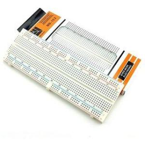 Techtonics MB102 830 Points Solderless PCB Breadboard (Pack of 3)