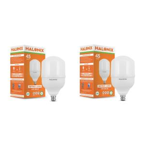 Halonix 45W B-22 Astron White LED Bulb (Pack of 2)