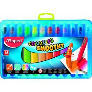 Maped ColorPeps Smoothy 12 Gel Crayons