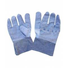 KT Blue Jeans Safety Gloves (Pack of 10)