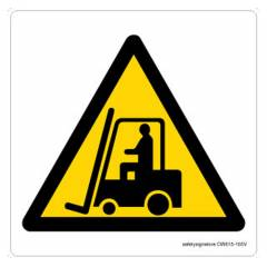 Safety Sign Store fork Lift Trucks Graphic Sign Board, CW615-105AL-01