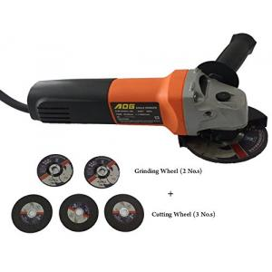 AOG 750W Angle Grinder with 4 Inch Cutting & Grinding Wheel, SIM-01