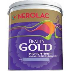 Nerolac Beauty Gold Paint BPAE3-0.9L