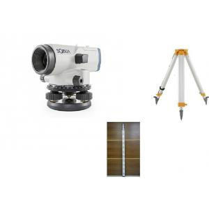 Sokkia B40A Automatic Level with GMT AT35 Aluminium Tripod & 4m Aluminium Staff