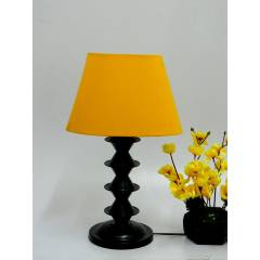 Tucasa Table Lamp with Oval Shade, LG-55, Weight: 650 g