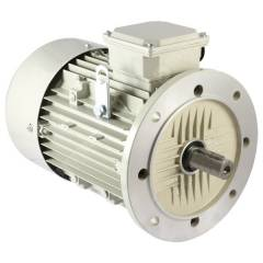 Crompton Greaves EFF. Level 2 Flange Mounted AC Motor-4 Pole, Power: 12.5 HP, 1500 rpm