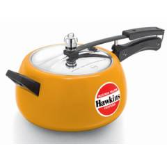 Hawkins Ceramic Coated Contura 5 Litre Apple Green Pressure Cooker, CMY50