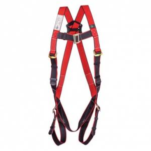 UFS Red & Black Full Body Harness without Lanyard, USP 25