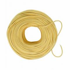 Jupiter 100m 2.5 Sq mm PVC Insulated Yellow Single Core Sheathed Wire